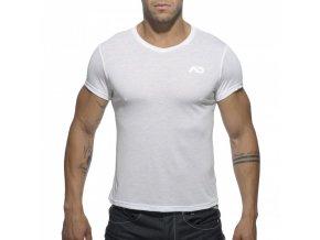Pánské tričko AD BASIC V-NECK T-SHIRT - bílé