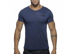Pánské tričko AD BASIC V-NECK T-SHIRT - modré