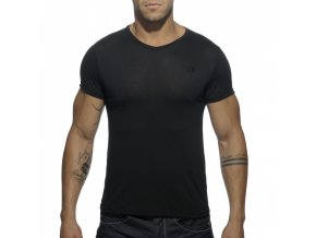 Pánské tričko AD BASIC V-NECK T-SHIRT - černé