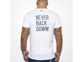 ts172 never back down u neck t shirt (1)