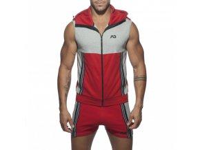 ad673 ad sleeveless hoody