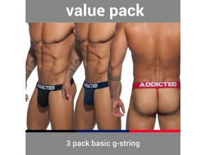 ad746p 3 pack basic g string