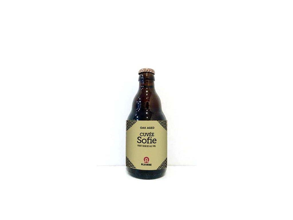 Beer; Alvinne Cuvée Sofie 22° alk.8% 0,33l