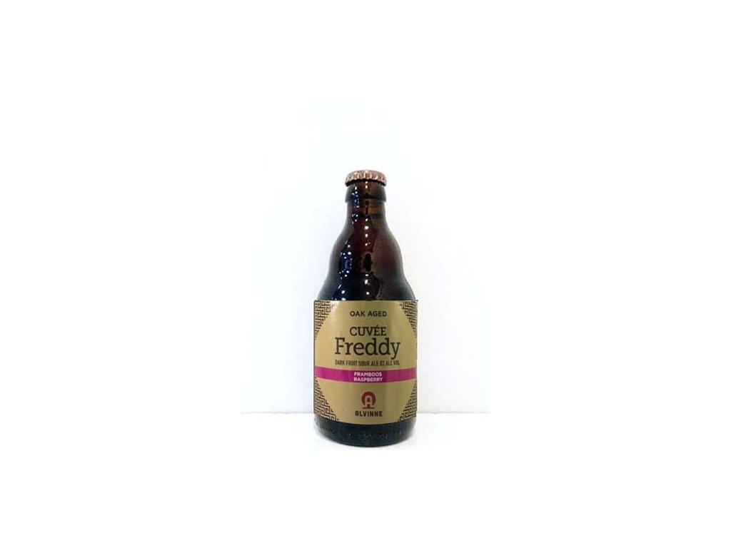 Beer; Alvinne Cuvée Freddy Framboos (Raspberry) 22°, alk. 8%, 0,33l