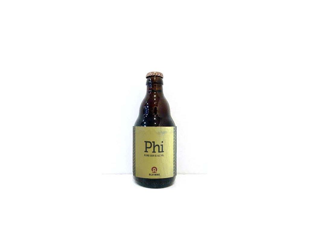 Beer; Alvinne Phi 22° alk.10% 0,33l