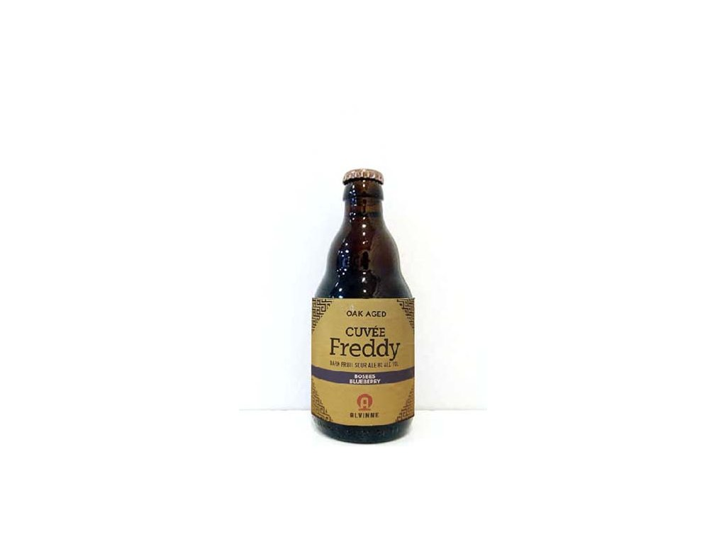 Beer; Alvinne Cuvée Freddy Bosbes (Blueberries) 22°, alk. 8%, 0,33l