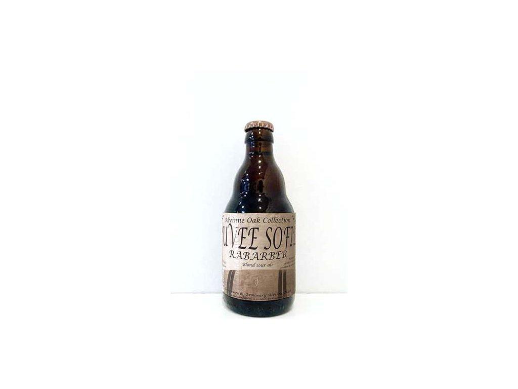 Beer; Alvinne Cuvée Sofie Rabarber 22° alk.8% 0,33l