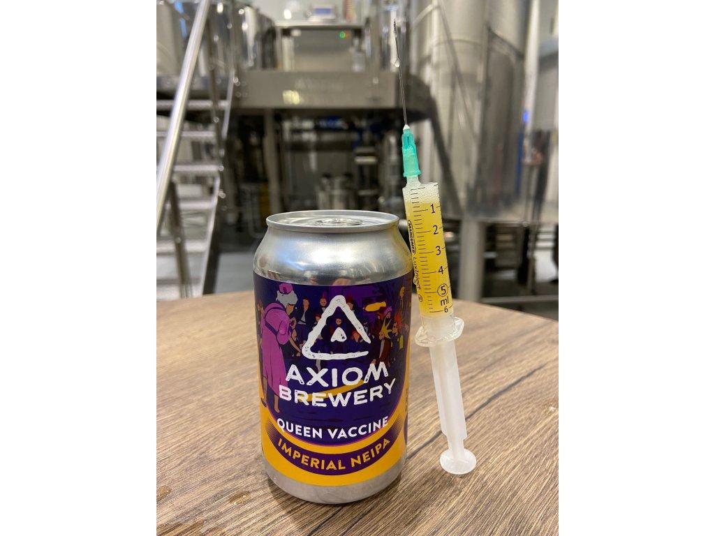 Axiom Brewery - Queen Vaccine 18°, 7,4% alk. Imperial NEIPA