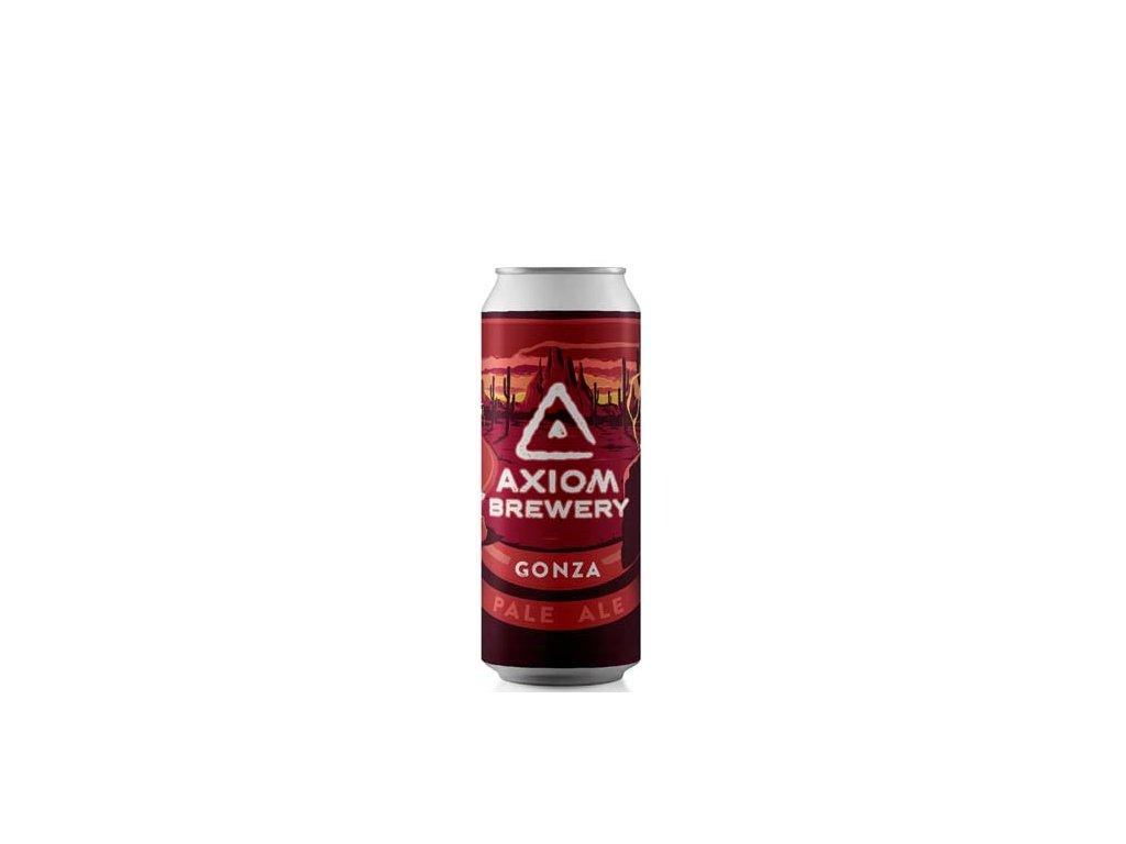 Axiom Brewery - Gonza 13°, 5,5% alk. Pale Ale
