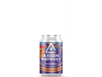 Axiom Brewery - Foo Dogs 19°, 7,0% alk. Milkshake IPA s mandarinkami a liči