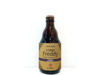 Beer; Alvinne Cuvée Freddy Bosbes (Blueberries) 22°, alk. 8%, 0,33l