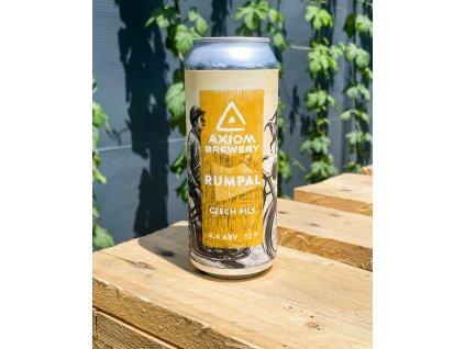 Axiom Brewery - Rumpál 12°; 4,4% alk. Světlý ležák