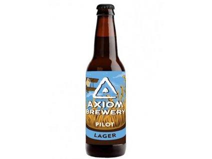 Axiom Brewery - Pilot 12°, 4,4% alk. Světlý ležák