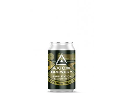 Axiom Brewery - Sour Station Passion Fruit 10°, 4,5% alk. Berliner Weisse s marakujou