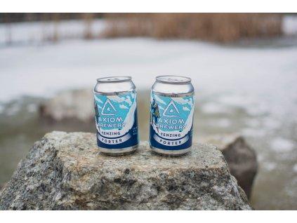 Axiom Brewery - Tenzing 17°, 7% alk. Robust Porter, plech