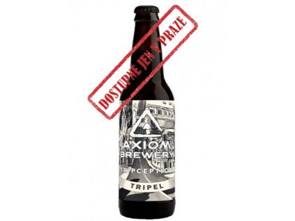 Axiom Brewery - Triception 18°, 8,0% alk. Belgian Triple