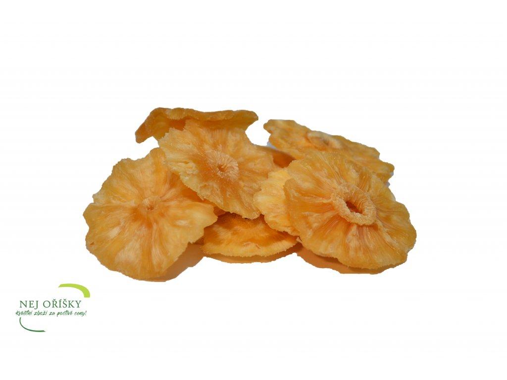 kroužky ananas bez SO2