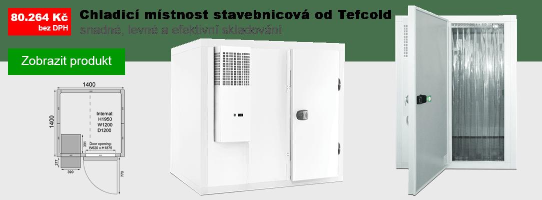 Chladicí místnosti Tefcold