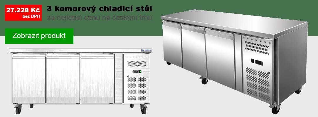 Chladicí stůl GNH3100TN za nejnižší cenu na českém trhu