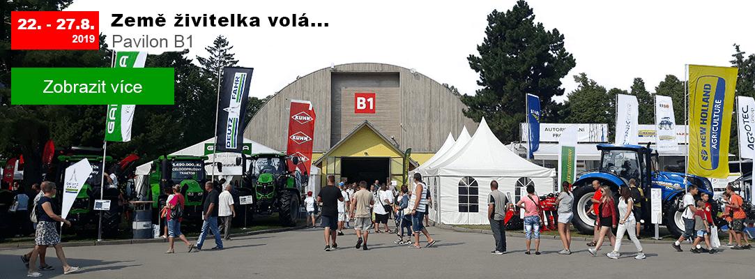 Země živitelka 2019. Najdete nás v pavilonu B1.