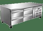 Snížené chladicí stoly