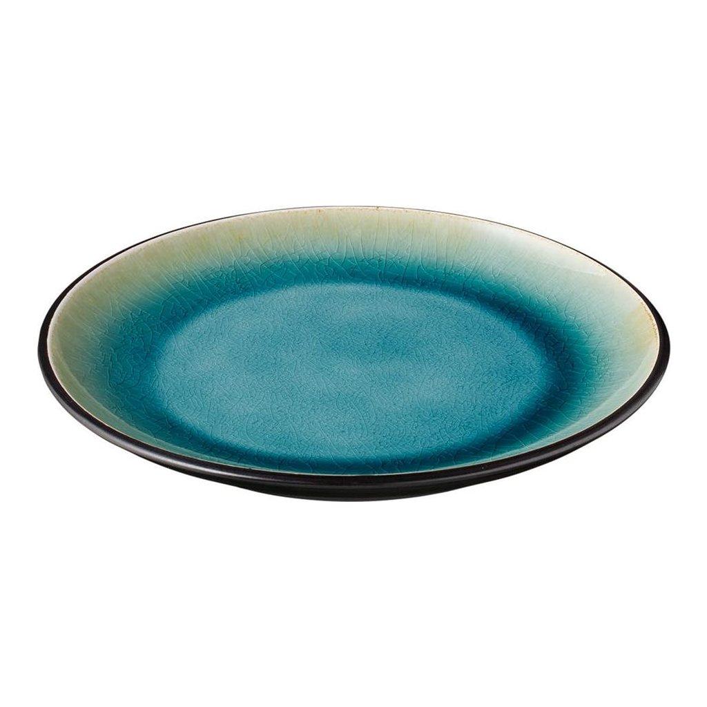 1263 talir porcelanovy melky s modrymi prechody cabo 22 8 cm