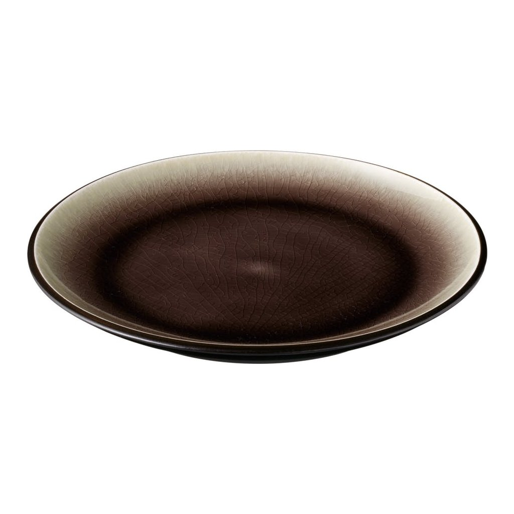 1293 talir porcelanovy melky s hnedymi prechody cabo 27 5 cm