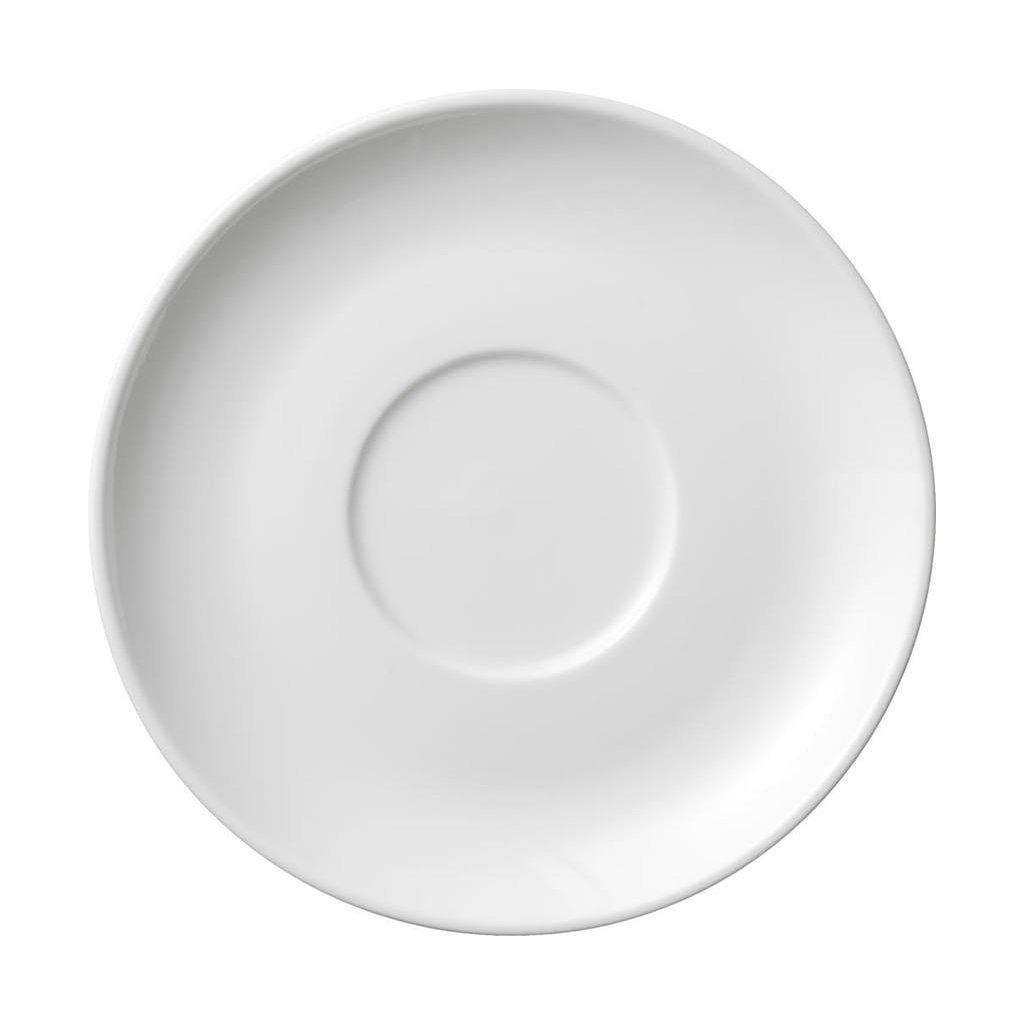 1323 podtacek porcelanovy bily stabla 14 3 cm pro hrnky 15 cl a 20 cl