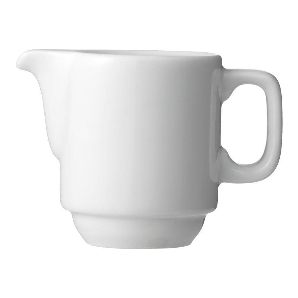 1353 nadoba porcelanova bila na smetanu 10 cl