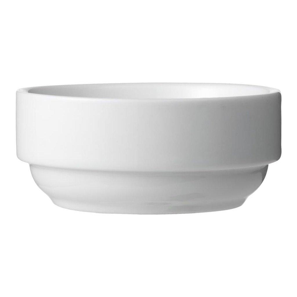 1362 miska hluboka porcelanova bila 8 cm