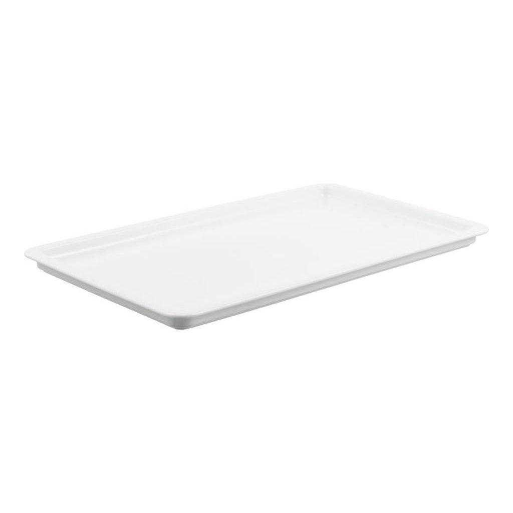 1407 misa melka porcelanova bila bianco o velikosti 1 1 gn hloubky 2 cm h2