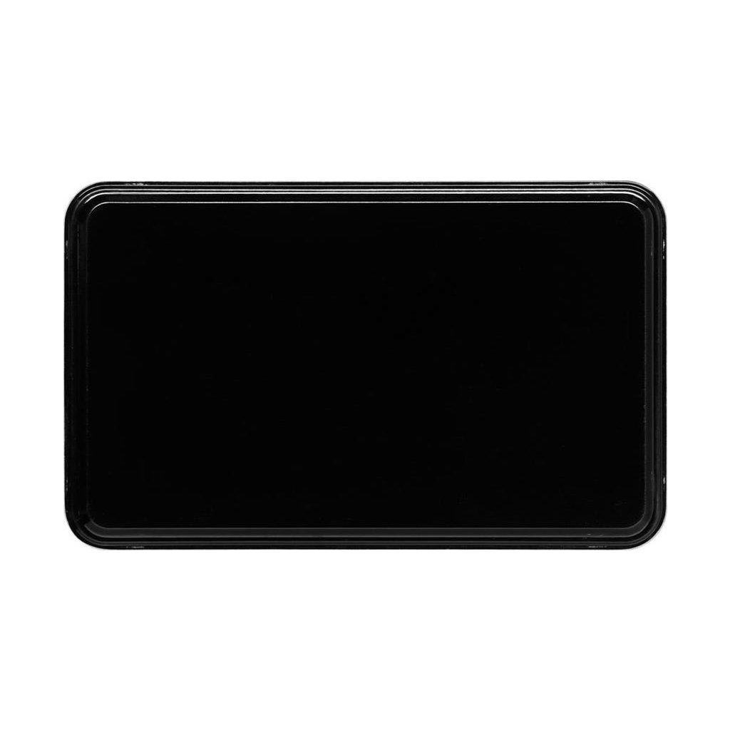 Podnos servírovací vzor černý Cambro obdélník 53 x 32,5 cm