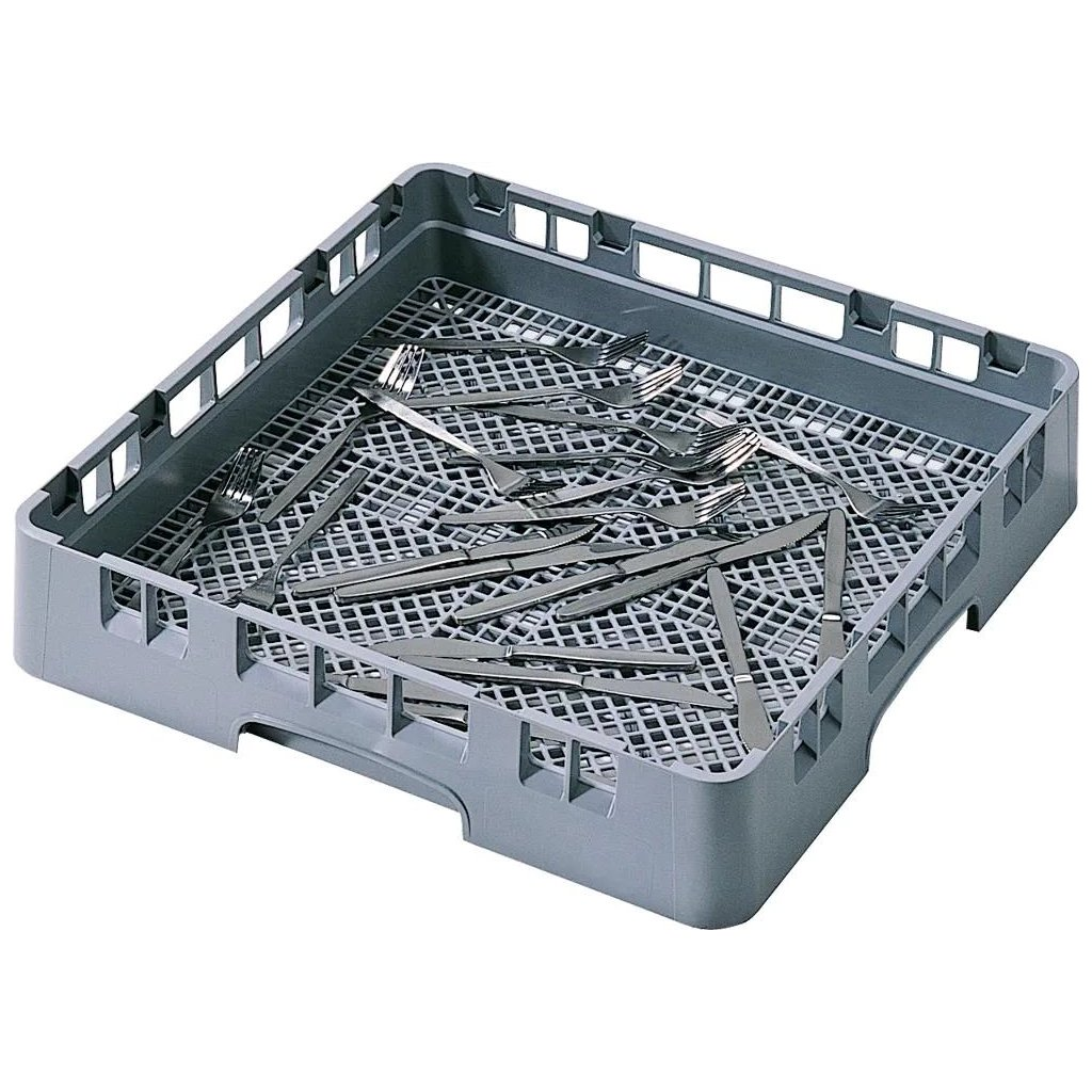 Koš do myčky na příbory plastový šedý Cambro