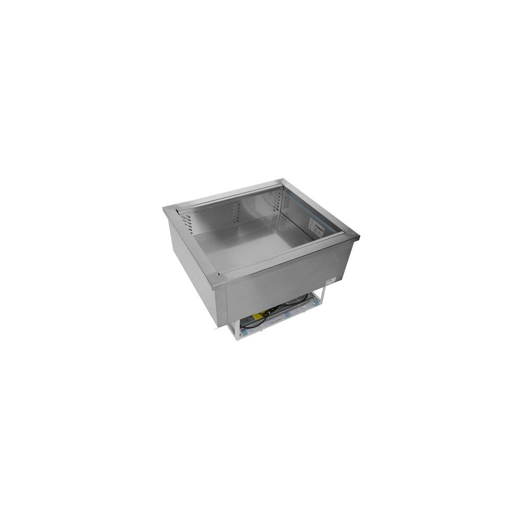 chladicí vana na 2x GN1 ventilovana vsazena Tefcold CW2 I V