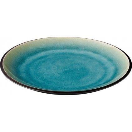1269 talir porcelanovy melky s modrymi prechody cabo 27 5 cm