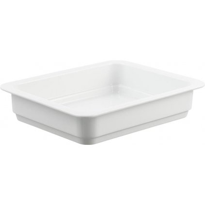1404 misa hluboka porcelanova bila bianco o velikosti 1 2 gn hloubky 6 cm h6