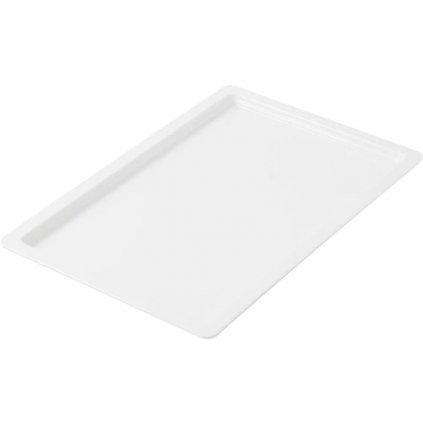 Mísa mělká melaminová bílá Destino o velikosti 1/1 GN hloubky 2 cm (H2)