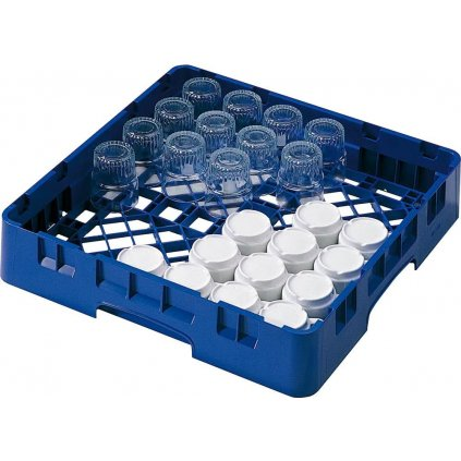 Koš do myčky na hrnky a sklenice plastový modrý Cambro