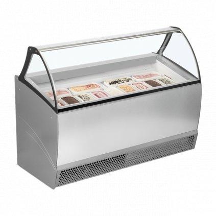 pultovy mrazak luxusni na kopeckovou zmrzlinu Tefcold Bermuda RV13 P 2