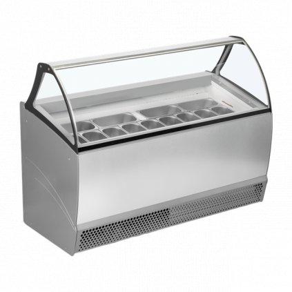 pultovy mrazak luxusni na kopeckovou zmrzlinu Tefcold Bermuda RV13 P