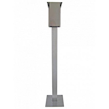 Venkovní stojan s bezdotykovým dávkovačem dezinfekce na rozstřik objem 8,8 litrů