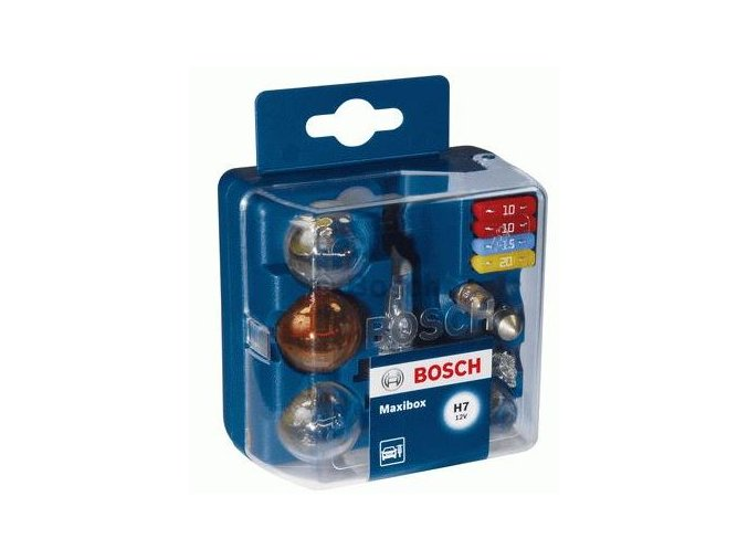 Sada žárovek BOSCH - H4 12V MAXIBOX Sortiment žárovek