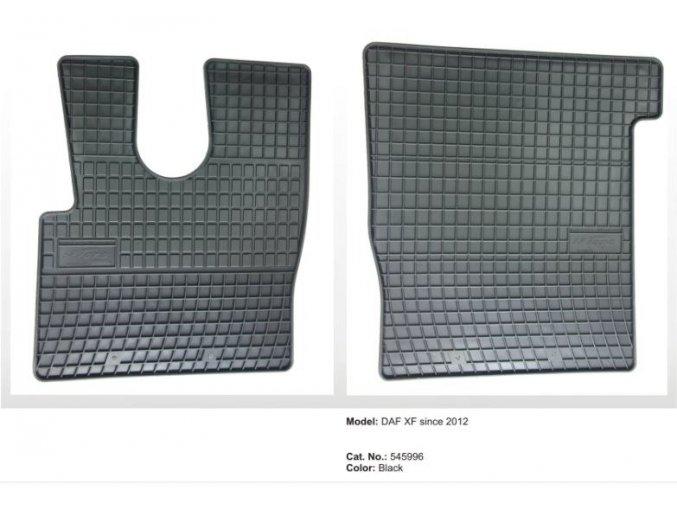 Gumové koberce DAF XF 106 EURO 6 ( 2012 - )