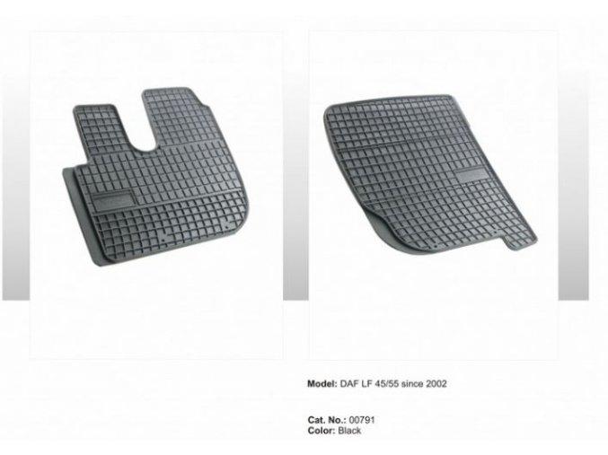 Gumové koberce DAF LF 45/55 (2002-)