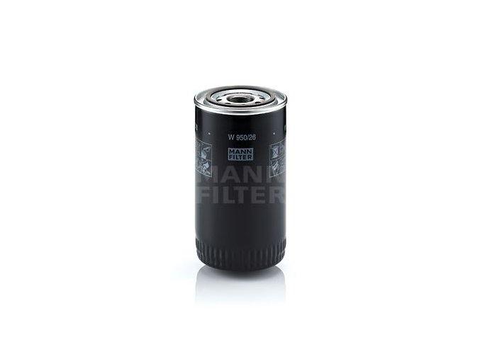 Olejový filtr W950/26 MANN FILTER, IVECO