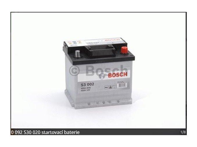 Baterie BOSCH  45AH/400