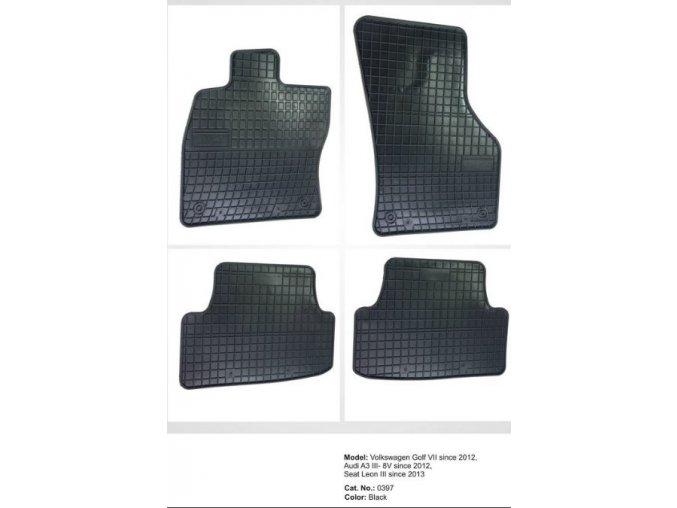 Gumové koberce Volkswagen Golf VII ( 2012 - )
