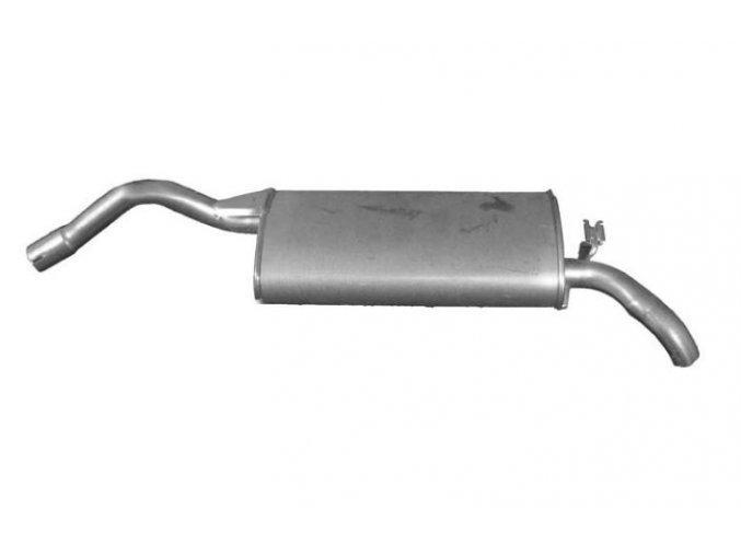 Výfuk Škoda Felicia 1.9D, zadní díl