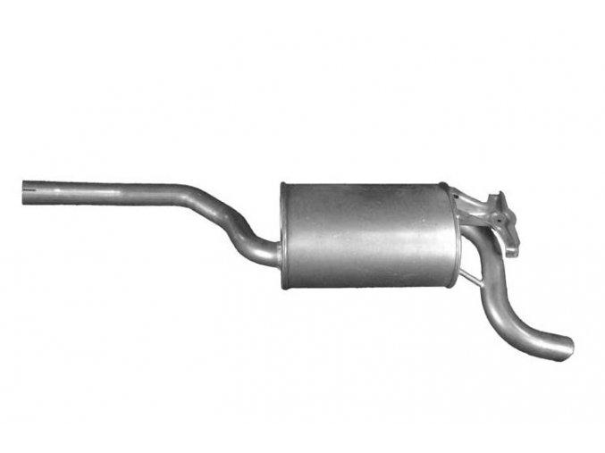 Výfuk VW Golf III / Vento 1.8i, střední díl