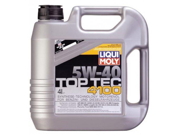 OLEJ 5W-40 TOP TEC 4100 4L Motorový olej